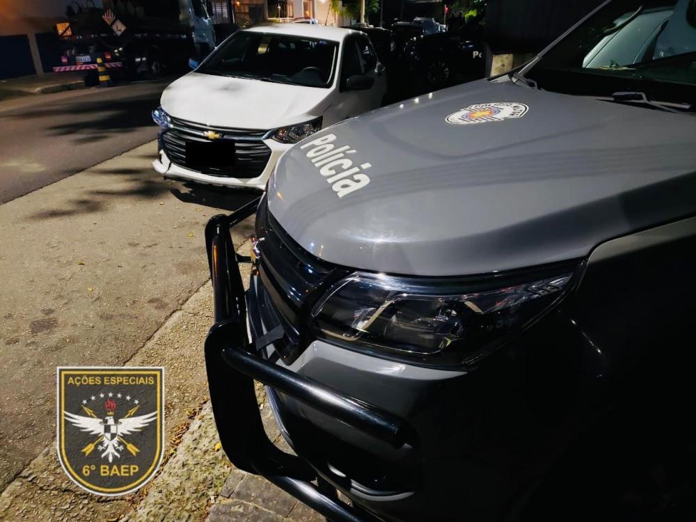 Homem é preso com veículo roubado em São Bernardo do Campo